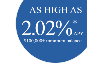 As High As 2.02%25* APY